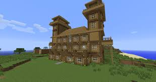 download minecraft log house blueprints adhome
