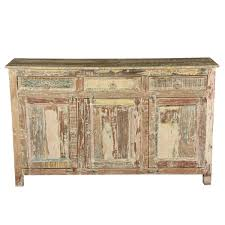 Buffet Table For Dining Room Furniture Contemporary Version Of Distressed Sideboard Buffet