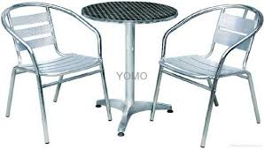 Aluminum Coffee Tables Sell Aluminum Coffee Table And Chair Set Id 7953972 From Yomo