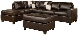 Reversible Sectional Sofas by Excellent Leather Sectional Couch 2202 Furniture Best