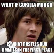 Gorilla Munch Meme - gorilla munch quickmeme clearview windows