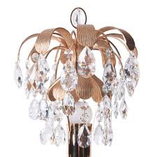 Brass And Crystal Table Lamps Brass U0026 Crystal Glass Table Lamp From Palwa 1960s For Sale At Pamono