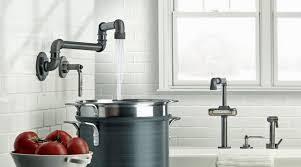 industrial kitchen faucet kitchen extraordinary industrial kitchen faucet reviews bronze