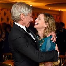 harrison ford harrison ford and calista flockhart pictures popsugar