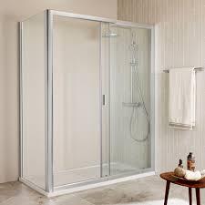 sliding shower screen for alcoves ura roca