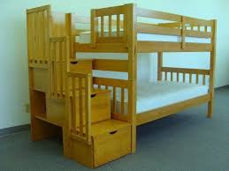viv rae shamar stairway twin over twin bunk bed with trundle