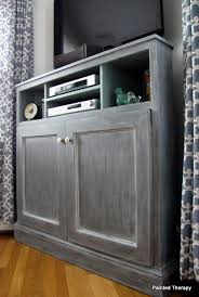 how to build a tv cabinet free plans ana white tall corner media console diy projects