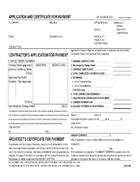 Aia G702 Excel Template Blank Aia Document A305 Forms And Templates Fillable Printable