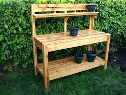 rubbermaid bench with storage potting benches with storage outdoor potting bench free plans with