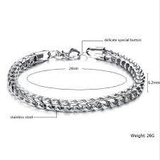stainless steel snake bracelet images 2018 hand chain man stainless steel snake bracelet bangles men jpg