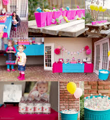 Decorating Ideas For Birthday Party At Home by First Birthday Party Decoration Ideas For Girls Unique Neabux Com
