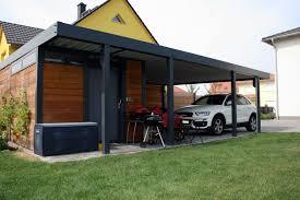 design carport holz design metall carport aus holz stahl mit geräteraum leipzig