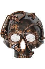 steunk masquerade mask robot mask ebay