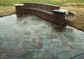 lovely stamped concrete patio images with interior home ideas