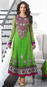 Buy Samantha Bollywood Replica Green Bollywood Replica Designer Georgette Lime Green Lehenga Choli