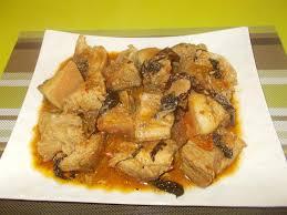 en cuisine avec coco ndomba de porc en cocotte et bobolo cuisine africaine revisitée