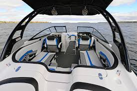 Rear Bench Seat For Boat Yamaha 242 X E Series Review Boat Com