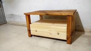 Wooden Pallet Coffee Table How To Make Pallet Coffee Table With Drawer Step By Step