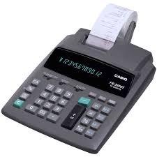 calculatrice bureau calculatrice de bureau imprimante casio fr 2650t achat vente