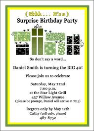 party invitations 40th birthday for your birthdays celebrations
