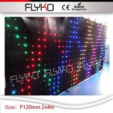 led lighting for banquet halls wedding supply p12 led curtain 2mx4m flexible video curtain led