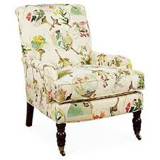 Floral Accent Chair Abigail Accent Chair Beige Floral Accent Occasional Chairs