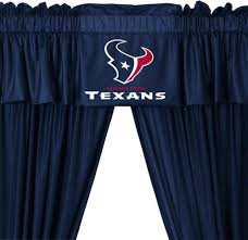 Soccer Curtains Valance Texans Curtains Alpals Info