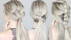 hairstyles quick and easy to do m quick easy hairstyles for summer youtube