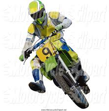 dirt bikes motocross transportation clipart of a motocross man turning on a dirt bike