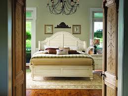 paula deen home steel magnolia platform bedroom set in linen code