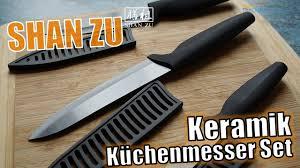 shan zu ceramic knife set ein keramik messer set hands on