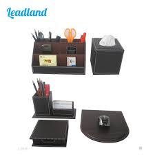 Desk Accessory Sets by Online Buy Wholesale Leather Desk Set From China Leather Desk Set