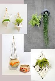 modern hanging planters modern boho shabby chic and contemporary hanging planters modern