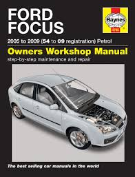 ford focus petrol service and repair manual 2005 to 2009