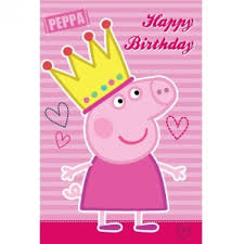 peppa pig birthday peppa pig greeting cards birthday card interesting peppa pig