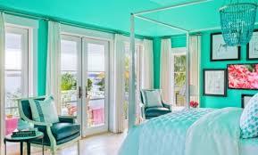 peinture chambre bleu turquoise décoration peinture turquoise chambre 83 colombes peinture
