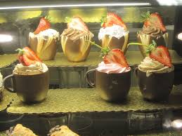 edible chocolate cups to buy food as
