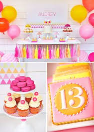 13th birthday party ideas fabulous pink gold glitter birthday birthday