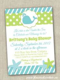 the sea baby shower invitations baby shower invitation the sea baby by partypopinvites