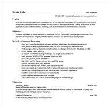 web design resume template excellent web developer resume