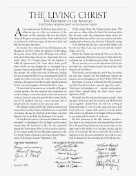 family proclamation family proclamation introduced lds church history timeline