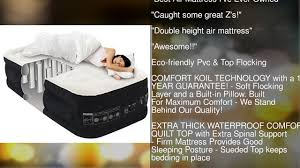 king koil twin size luxury raised air mattress best inflatable