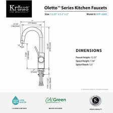 Kitchen Faucets Clearance Kraus Mateo Single Lever Cylindrical Kitchen Bar Faucet