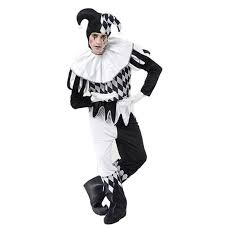 Black And White Makeup Ideas For Halloween Court Fool Costume And Makeup Jester Pinterest Costumes And