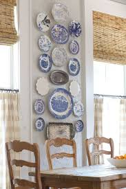 Blue And White Decorating 30 Eye Catchy Kitchen Wall Décor Ideas Digsdigs