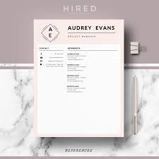 Resume Template In Word by Professional Creative Resume Template For Ms Word