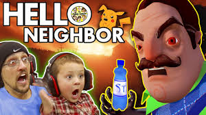 best halloween costumes for family of 4 hello neighbor scary basement mystery game his secret water