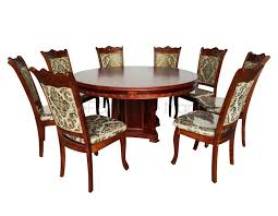 318 round table dining set w lazy susan home u0026 office furniture
