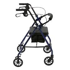amazon com drive medical aluminum rollator walker fold up and