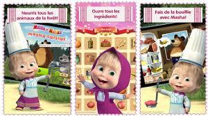 jeux de cuisine pour enfant masha et michka jeux de cuisine pour enfants dessin animé en